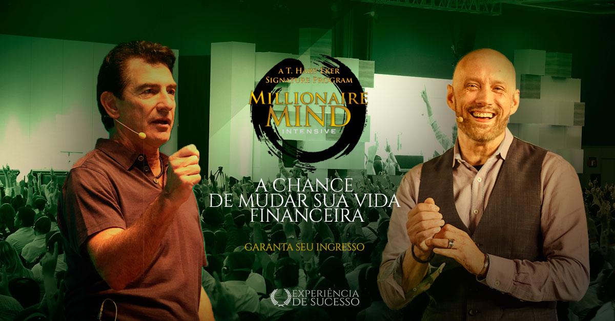 Millionaire Mind Intensive - T Harv Eker e Doug Nelson - Events Promoter