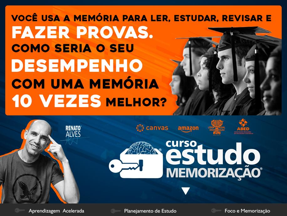 Curso Estudo e Memorizacao - Renato Alves - Events Promoter