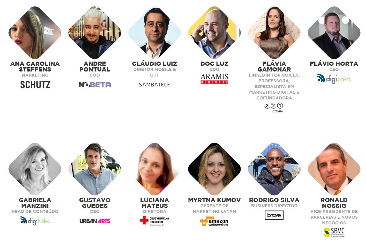 Expo Forum Digitalks 2019 - Alguns Palestrantes - Events Promoter